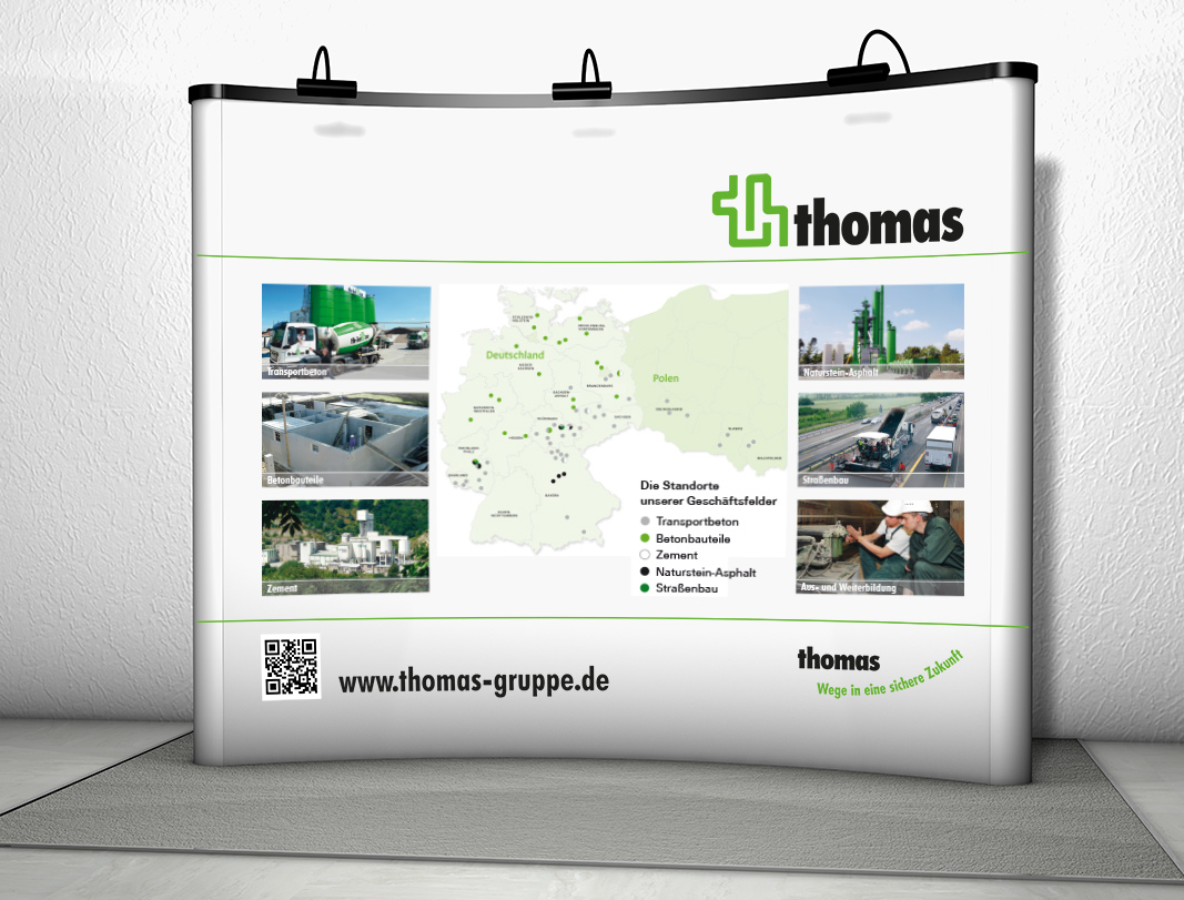 Promotion-Messedisplay | thomas beteiligungen GmbH